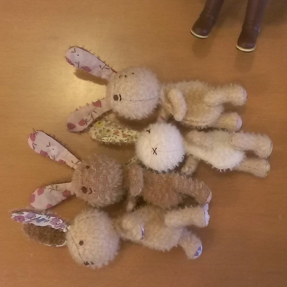 ウサギ・ウサギ・ウサギ♪